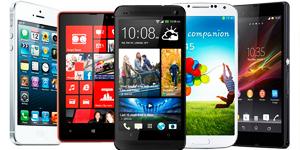 Estos son los teléfonos móviles top ventas en Internet