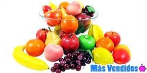 Frutas artificiales más vendidas