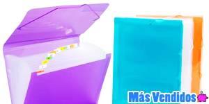 Portafolios de plástico más vendidos