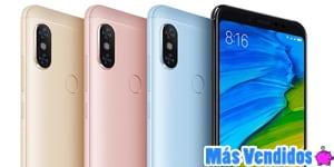 teléfono móvil Xiaomi más vendidos